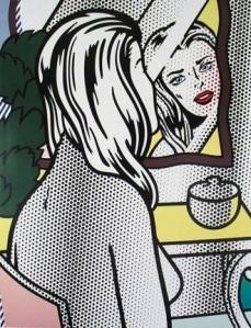 Roy Lichtenstain - Girl Before a Mirror