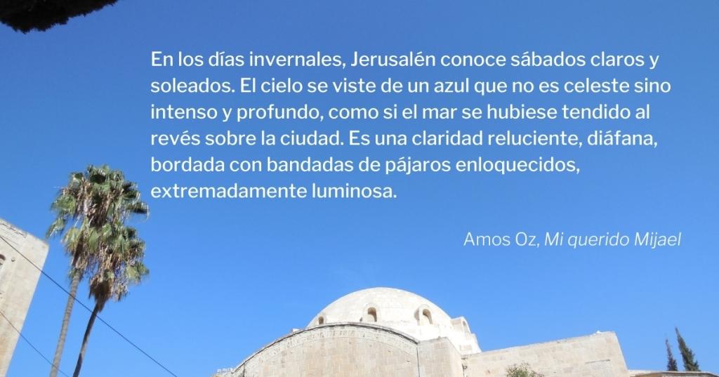 Mi querido Mijael, Amos Oz